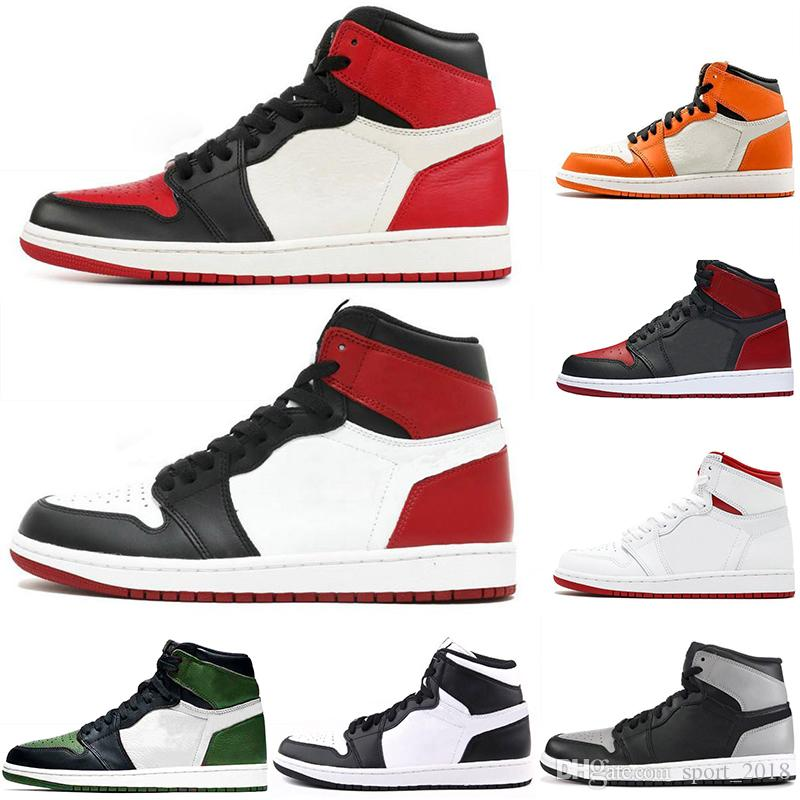 4072b5023b77 gold toe 1s 2019 2019 Mens Designer GOLD TOE 1 OG Men Basketball Shoes Game  Royal