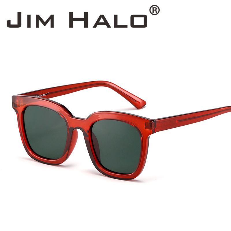 45844a7719b Jim Halo Oversized Flat Mirrored Sunglasses Designer Square Frame Sun Glasses  Tinted Eyeglasses For Women Men Online Eyeglasses Discount Sunglasses From  ...