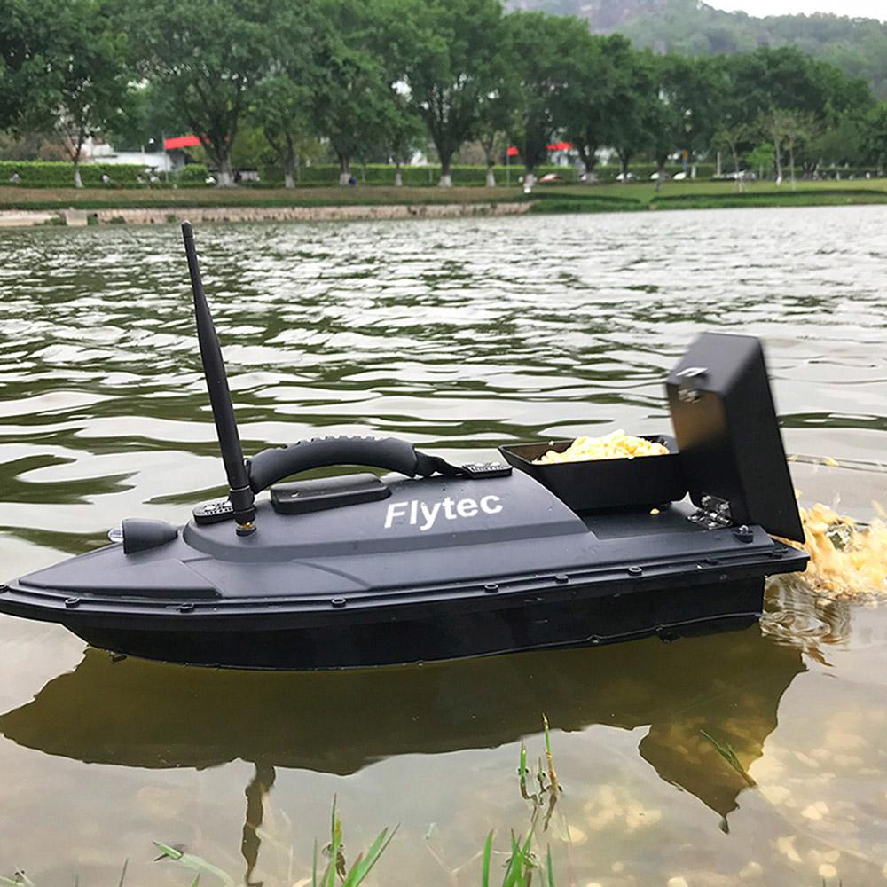 Flytec 2011-5 Fish Finder Fish Boat 1.5kg Loading 500m Remote Control Fishing Bait Boat RC Boat Ship Speedboat RC Toys Parts free shipping
