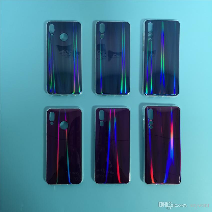 84e9edfa7673 Fashion Blu-ray IMD Soft Silicon Colorful Laser Phone Case for HUAWEI P20  Pro Nova 3E Nova 2s For IPhone X 8 7 6 HUAWEI P20 Blu-ray Laser Phone Case  Fashion ...