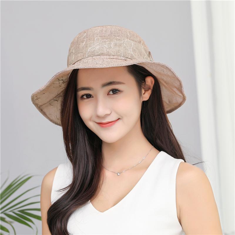 65067a52a6b XIANXIANQING 2018 Women s Taiwanese Silk Hat Lady s Flower Hats ...