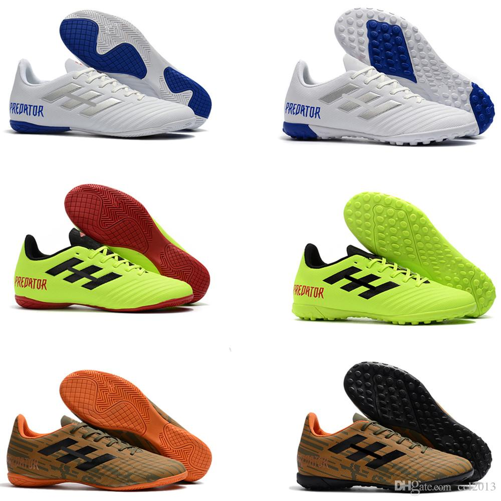 d516b683d3 2019 100% Original Mens Soccer Cleats Predator Tango 18.4 IC TF Football  Boots Best Quality Soccer Shoes Size EUR39 45 From Ccl2013