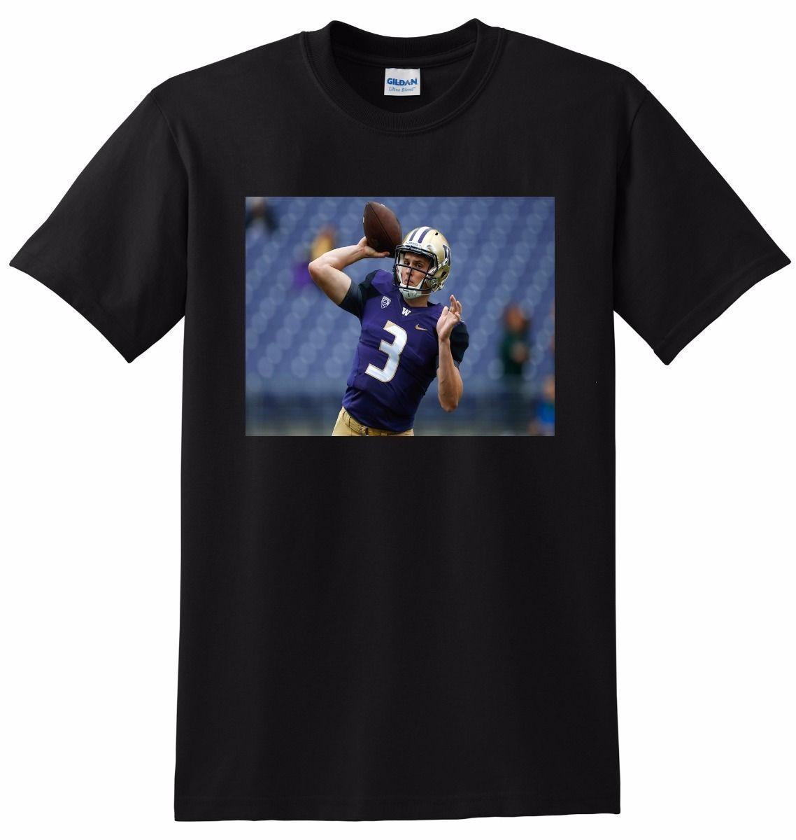 7af3dbcbb JAKE BROWNING T SHIRT Washington Football SMALL MEDIUM LARGE Or XL Neck T  Shirts T Shirts Only From Amesion102