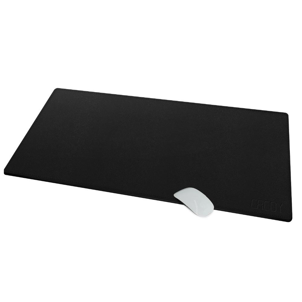 Extended Pu Leather Mouse Pad Mat Size 39 4 L X 15 7 W Cacoy Large Office Writing Desk Gaming Computer Mousepad Rever Wrist From