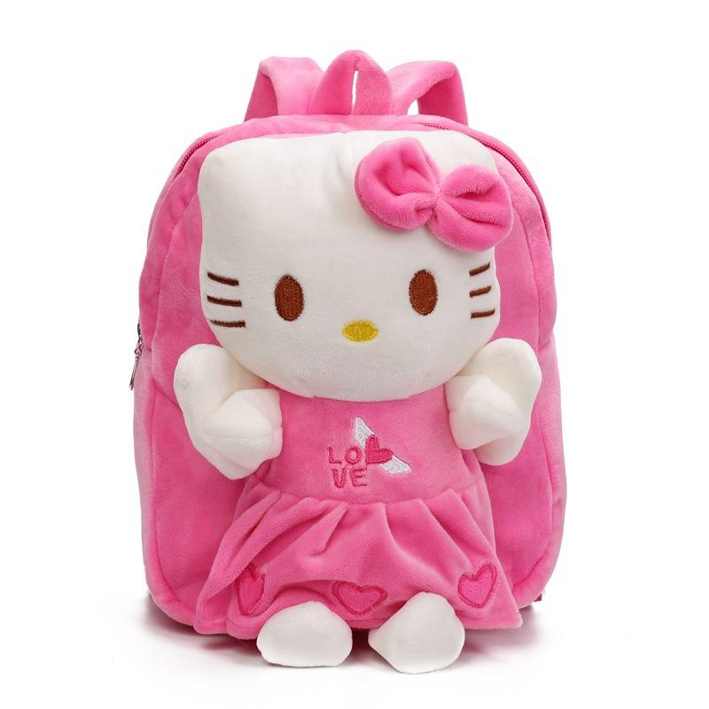 Children S Gift Kindergarten Girls Boys Backpack Cartoon Plush Baby