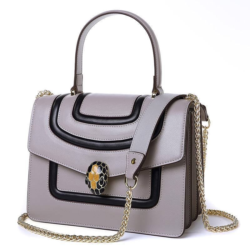 97880ed82b1dd Großhandel 2018 Neue Welle Kette Messenger Bag Weibliche Kleine  Quadratische Tasche Wilde Schulter Multifach Handtasche Nähen Hit Farbe  Dame Von Redvelvett