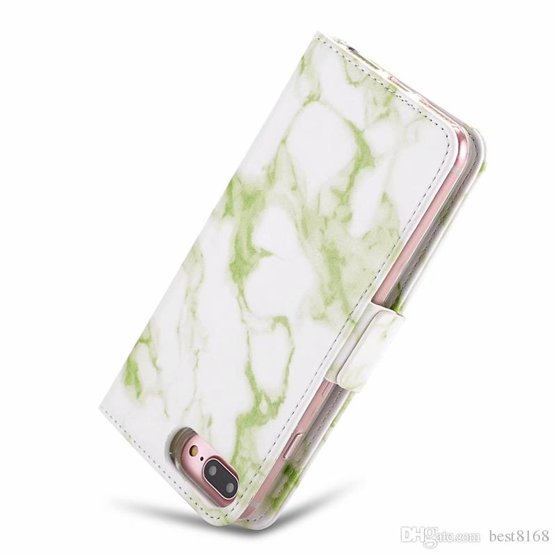 Removable Detachable Leather Wallet Case For Iphone X 10 8 7 6 Galaxy Note 9 S9 Huawei P20 Lite Pro Marble Coque Cover Rock Stone Magnetic