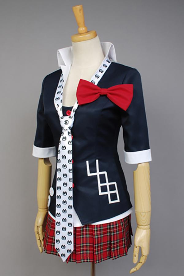 Danganronpa Cosplay Junko Enoshima Cosplay Japanese Anime Costume by Custom-made full set school uniform for party