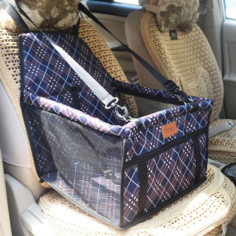 Yeni Varış Pet Köpek Taşıyıcı Araba Koltuğu Pad Güvenli Taşıma Ev Çantası Araba Seyahat Aksesuarları Su Geçirmez Köpek Koltuk Çanta Sepet Pet Ürünleri