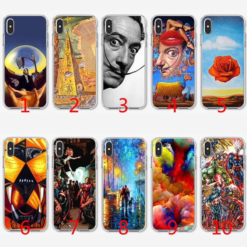 coque iphone 7 plus dali