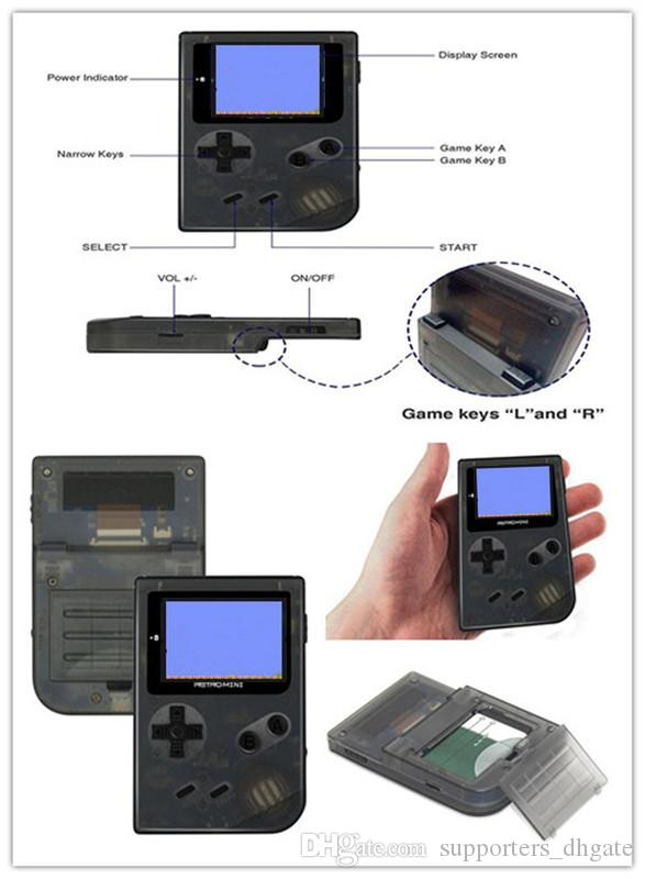 Dropshipping For Gba Game Console Handheld Retro Mini Nostalgia 32 ...