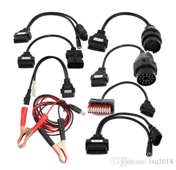 DS150e TCS CDP 프로 스캐너에 대 한 8in1 자동차 진단 인터페이스 OBD2 자동차 케이블