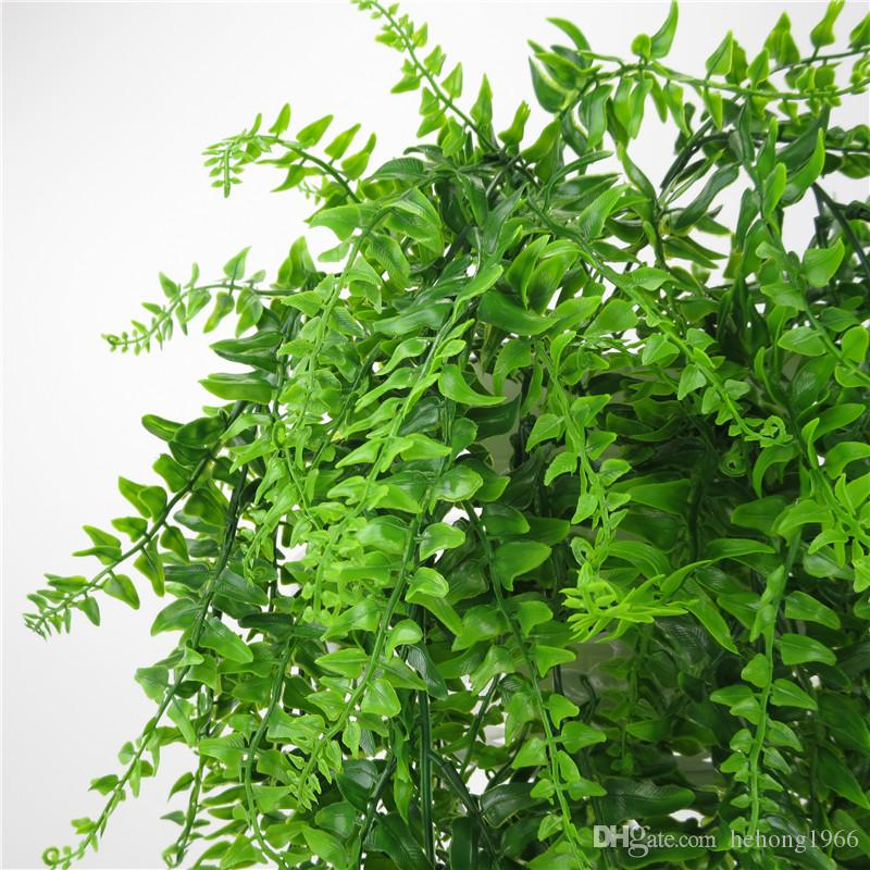 Fake Artificial Plants Fashion Plastic Simulation Wall Hanging Plant For Home Hotel Party Decoration Decor Flower Vine Accessorie 7 6yy UU
