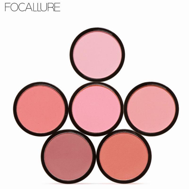 Honesty Focallure New Arrivel 3 Colors Blush&highlighter Palette Face Matte Highlighter Powder Illuminated Blush Powder Beauty & Health