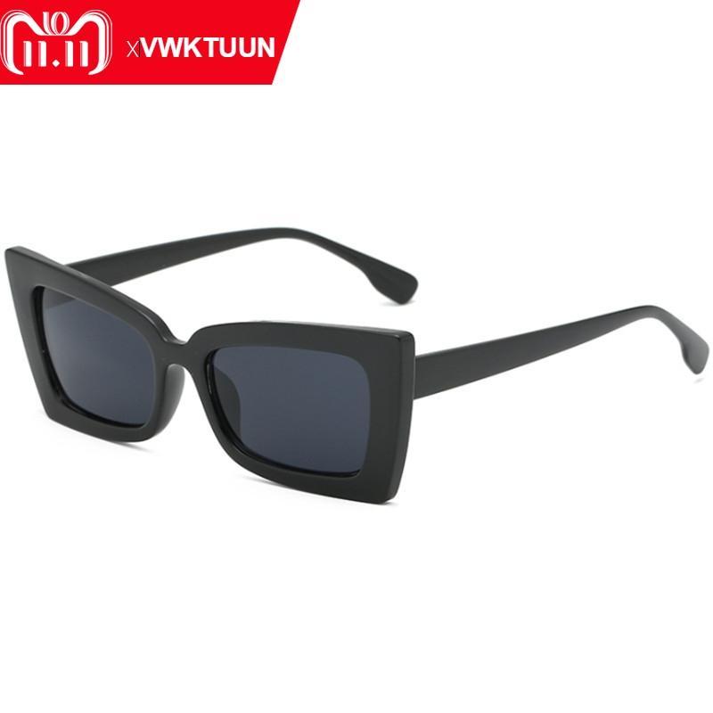 65c20d3f26 Compre VWKTUUN Gafas De Sol Cuadradas Mujeres Hombres Mariposas Gafas De Sol  Retrovisores De Gran Tamaño De La Marca Desinger Gafas De Sol Para Mujer A  ...
