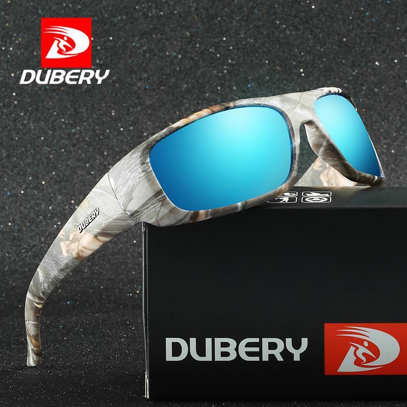 ba1fd7568b Compre Dubery 2018 Marco De Camuflaje Gafas De Sol Polarizadas Hombres  Visión Nocturna Gafas De Sol Hombre Espejo Colorido Gafas Goggle D1418 A  $38.16 Del ...
