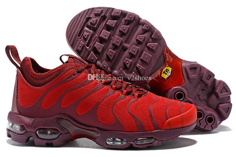 separation shoes 261f1 249a1 2019 New Update TN All Black White Red Men Sport Running Shoes for Cheap  High quality TNs Designer Casual Trainers Sneakers Size 40-45