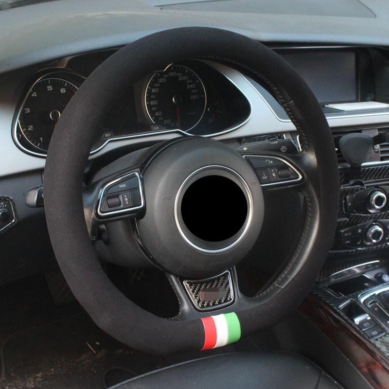2019 D Type Anti Slip Plush Sport Auto Steering Wheel