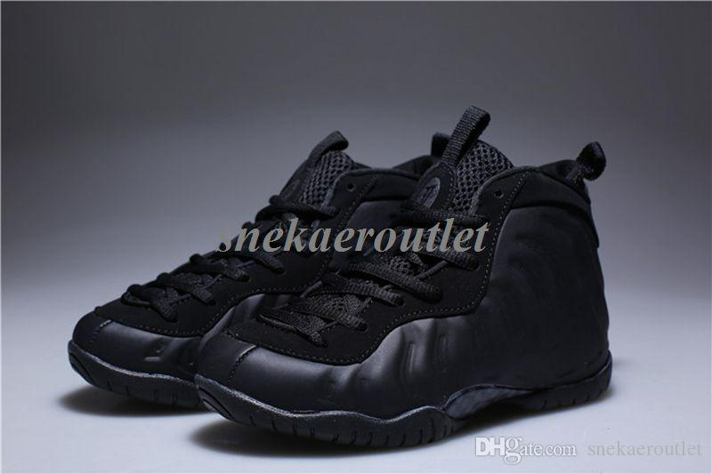 new Kids Hardaway pro Basketball Shoes Childrens hardaway Sports Shoes boys girls size Euro 28-35