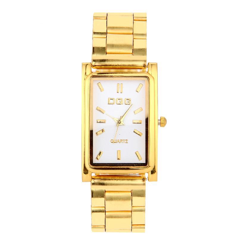 1ddad6d6bd1 Compre Assista Mulher Quadrado Relógios De Luxo Em Aço Inoxidável Moda Feminina  Pulseira Relógios Mulheres Relógio De Quartzo Relógio Feminino Montre Femme  ...
