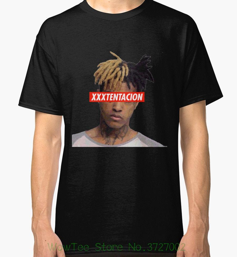 cea5d2257b76 Xxxtentacion Men'S Black Tees Shirt Clothing Tshirt O Neck Summer  Personality Fashion Men T Shirts Shirt Designer Customised T Shirts From  Cooldaystore, ...