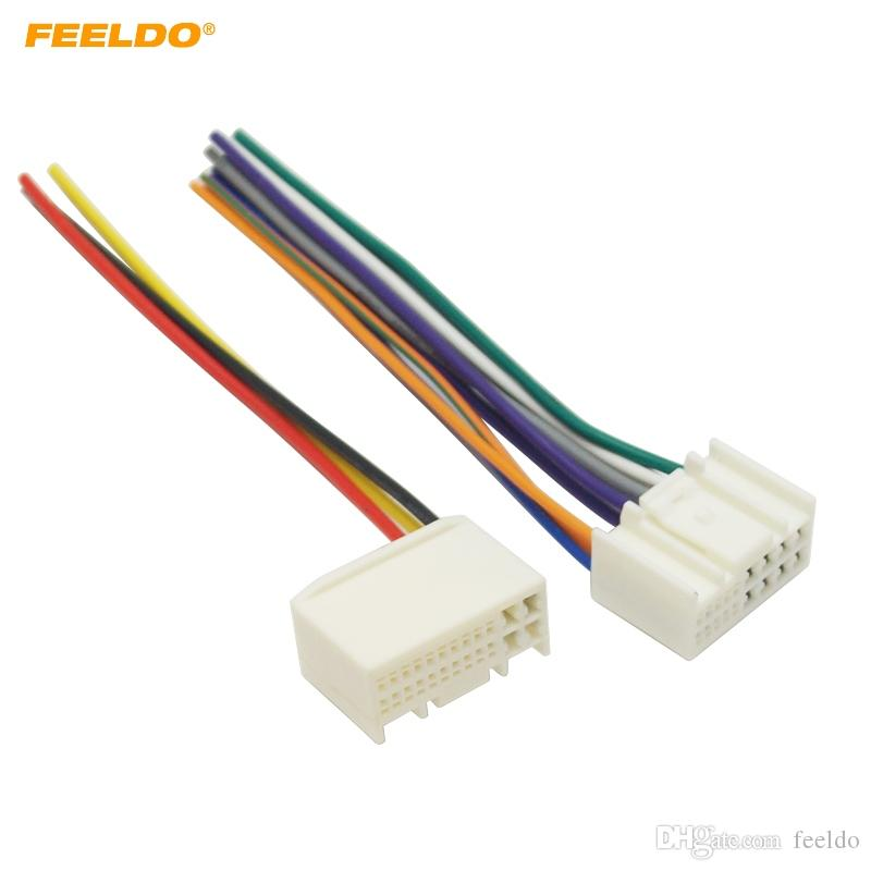Awe Inspiring 2019 Feeldo Car Radio Audio Power Wire Harness Adapter For Kia K2 K3 Wiring 101 Capemaxxcnl