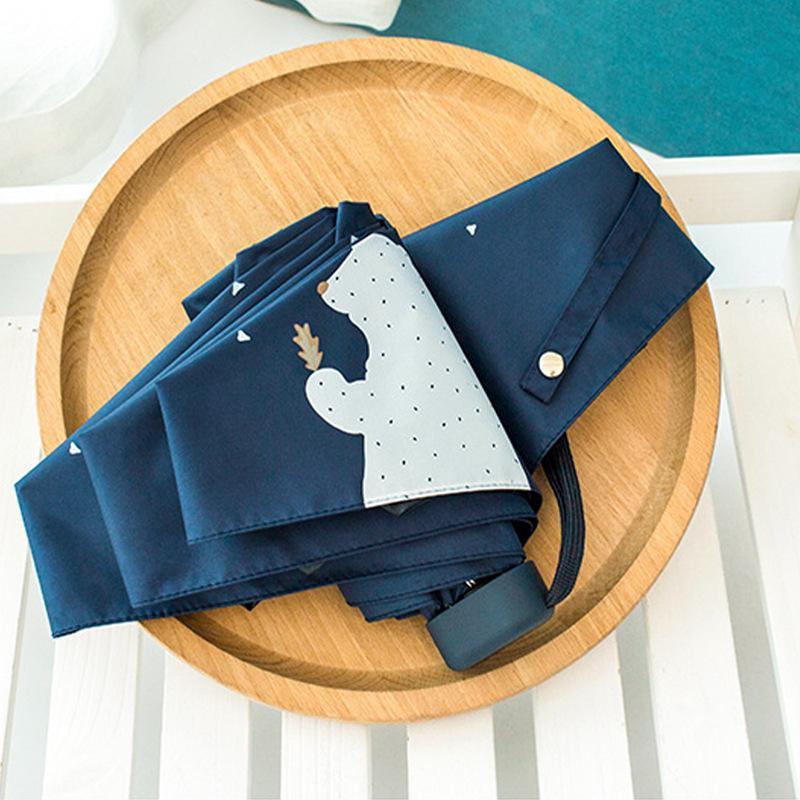53bcb1156 UV Protect Umbrella Mini Pocket Compact Folding Sun Uv Rain 5 Light ...