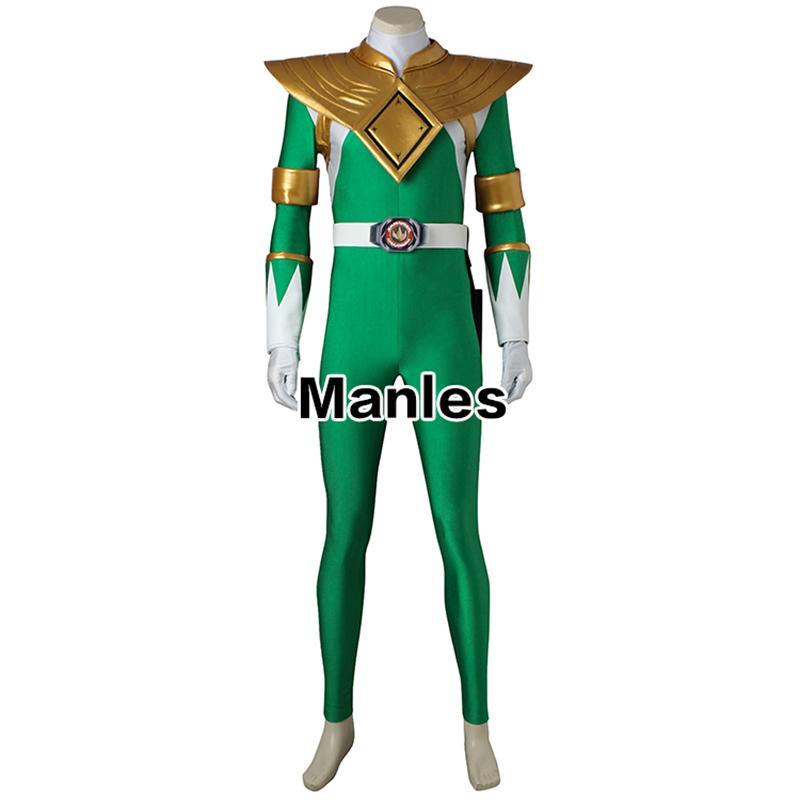Ostumes Accessories Cosplay Costumes Costume For Burai Dragon Ranger  Jumpsuit Onesies Cosplay Halloween Zyuranger Green Adult Men Custom . 19031dc1c