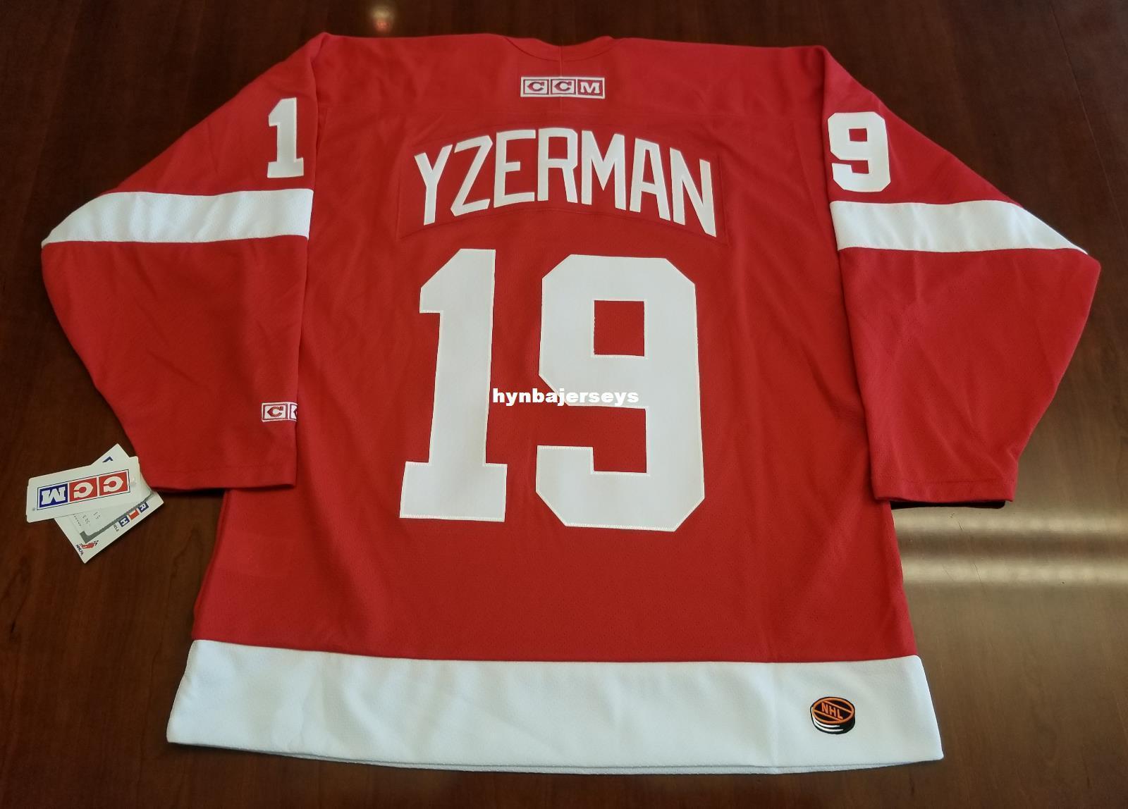 67e6ae25 2019 Custom Steve Yzerman Vintage Detroit Red Wings CCM Cheap Hockey Jersey  Red Mens Retro Jerseys From Hynbajerseys, $26.25 | DHgate.Com