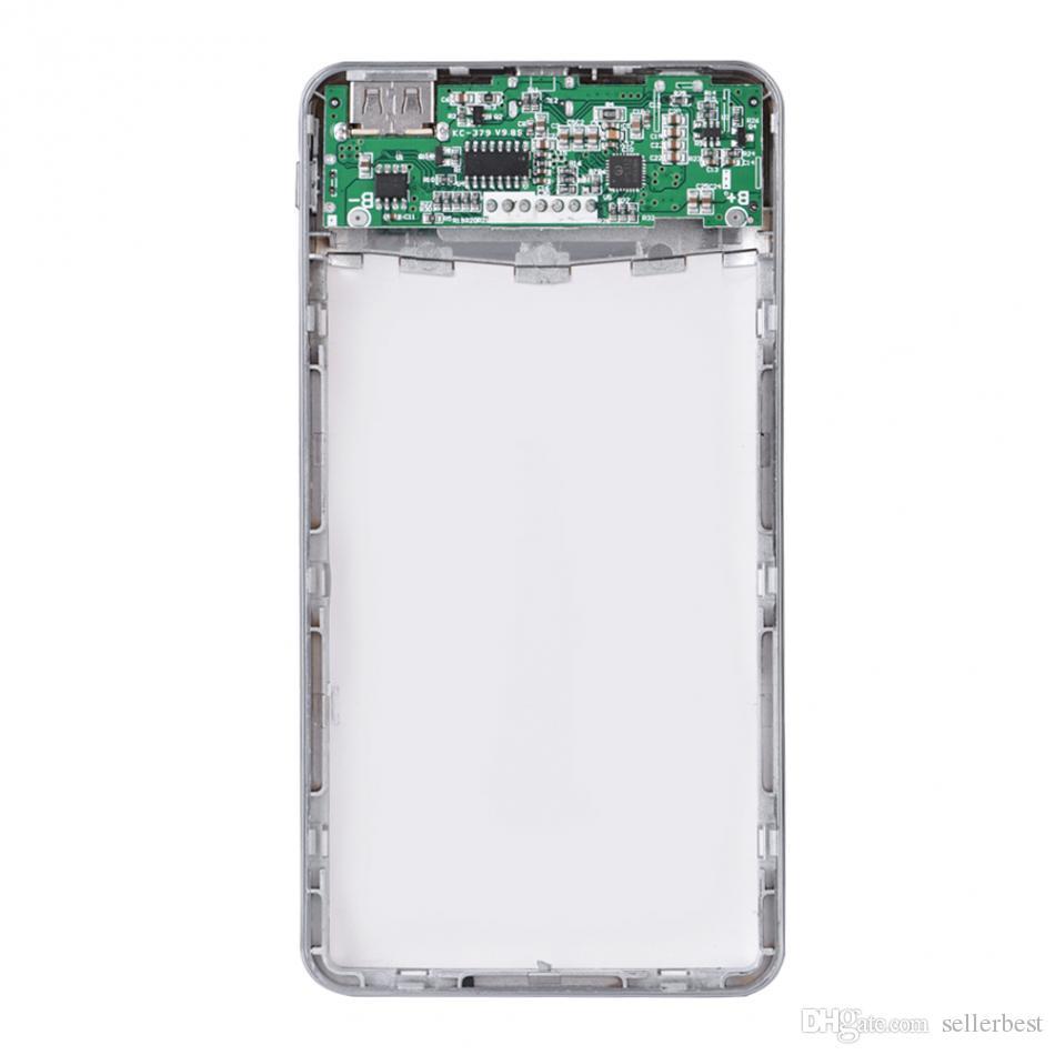 Chargeur USB Power Bank Case Circuit Board DIY Kit QC3.0 Charge Rapide Micro USB USB Type-C Entrée LCD Affichage Numérique