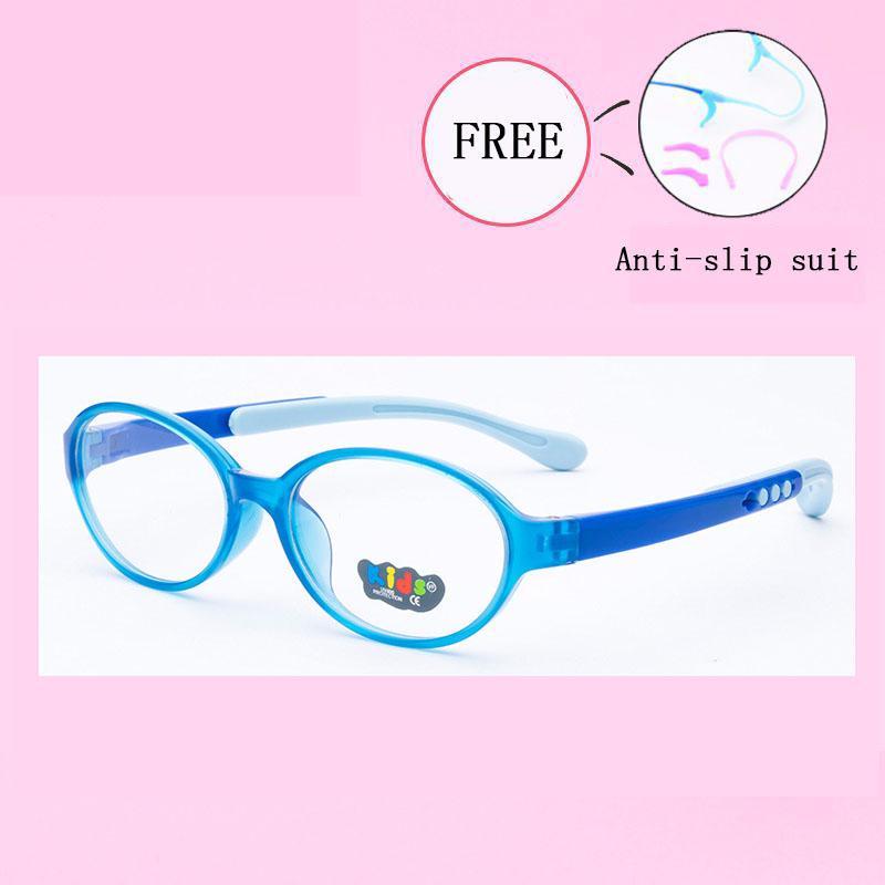 71f6af27ac 2019 Retro Kids Round Glasses Frame Child TR90 Flexible Eyewear Frames  Eyeglasses For Myopia Prescription Girl Boy 8828 25 From Jingchengyan