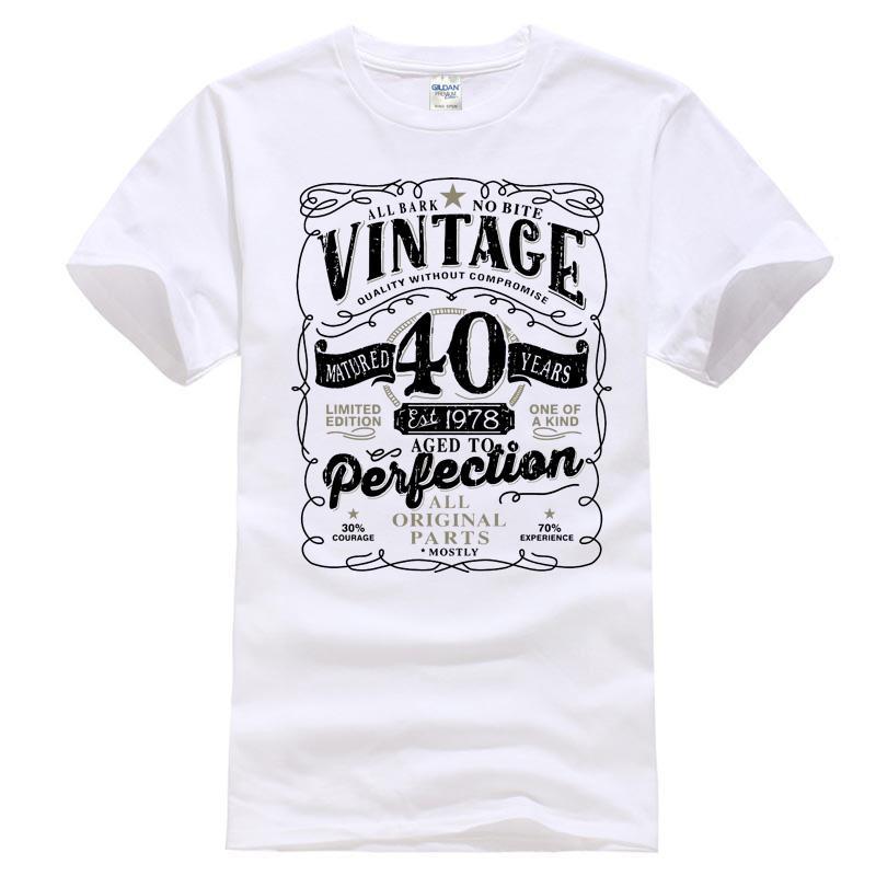 Regalo 40 Shirt Compleanno In ° 1978 Originali T Made Parti Acquista OiukTPZX