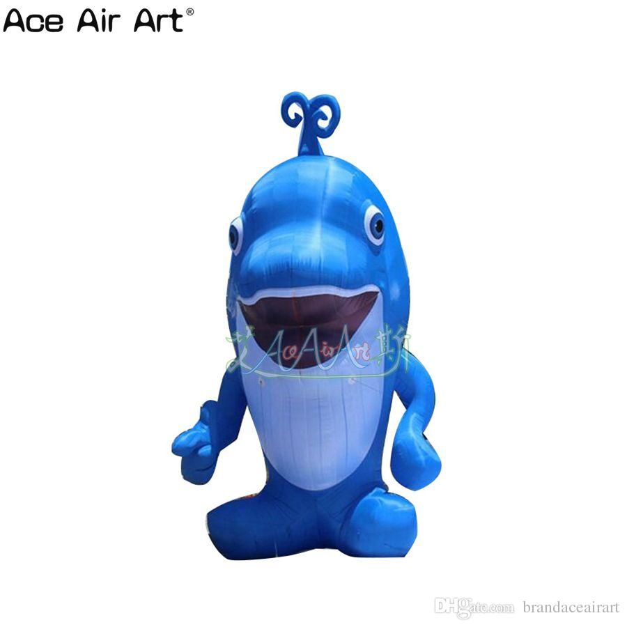 2018 Giant Cute Simulated Animals Inflatable Dolphins, Inflatable ...