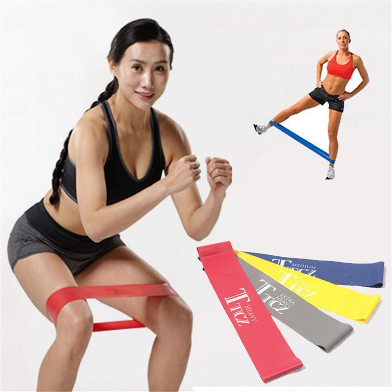 Sports & Entertainment 1pcs Home Fitness Leg Muscles Fitness Exercise Fitness Band Workout Equipments Resistance Bands Hot Sale Resistance Bands Set Fitness & Body Building