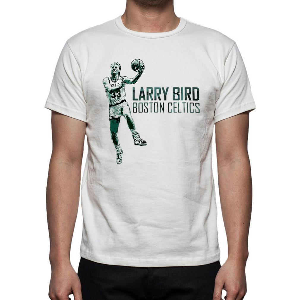 huge selection of 95dcc 2383f Basketball T Shirt Jersey Larry Bird The Legend M45 Mens 2018 fashion Brand  T Shirt O-Neck 100%cotton T-Shirt