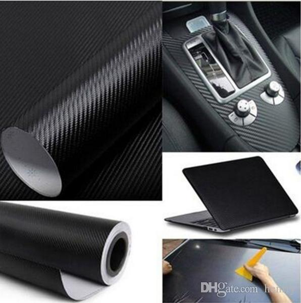 127CM*10CM 3D Color Modification Film Car Interior Whole Vehicle Color Change Paste Carbon Fiber Color Change Sticker