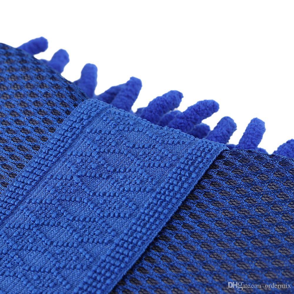 Car Wash Auto Hand Soft Towel Microfiber Chenille Anthozoan Washing Gloves Coral Fleece Sponge Car Washer