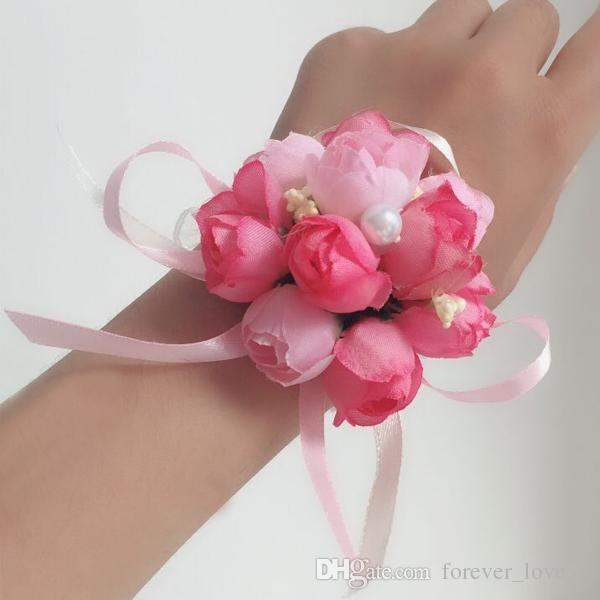 Grosshandel Gunstige Hochzeit Blumen Madchen Blumenstrauss Kleine