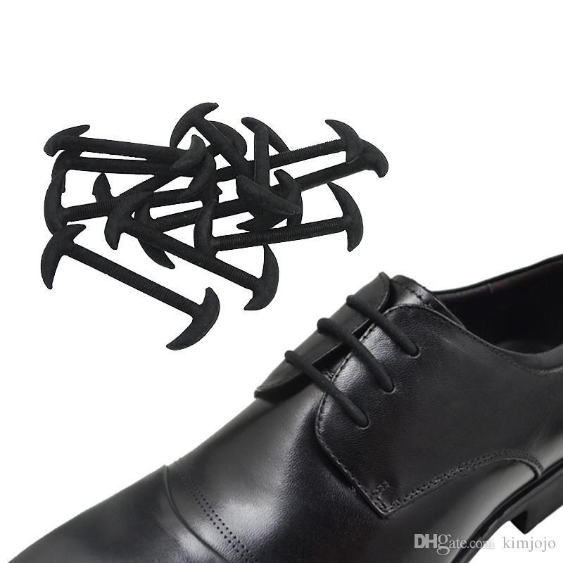 الأزياء للجنسين لا التعادل كسول الحذاء مطاطا سيليكون الأحذية الدانتيل جميع أحذية رياضية حزام رياضي تشغيل رباط الحذاء