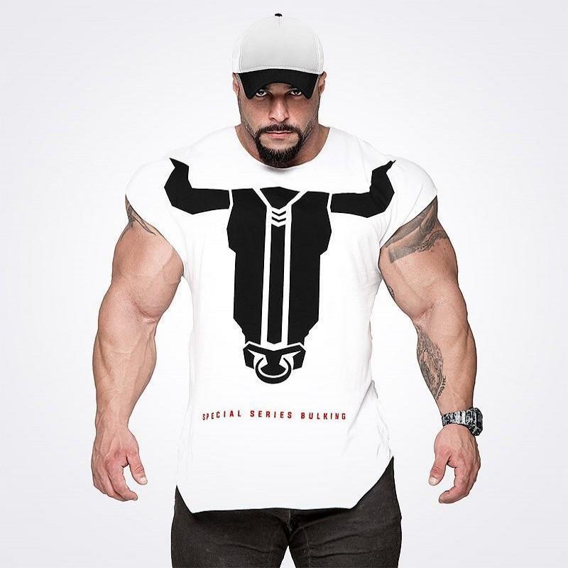 f7aa4d1cb 2019 New Fitness Sport Shirt Men Rashgard Mens Quick Dry Fit Men Running  Shirt Crossfit T Gym Sport Top Workout Outdoor Jersey From Hougo