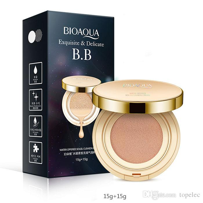Best Quality BIOAQUA Base Makeup Cushion BB Cream Moisturizing Natural Concealer BB & CC Cream With One Replacement