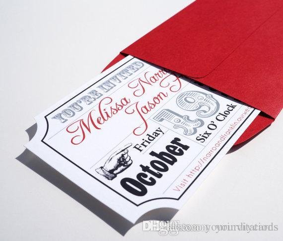 factory Direct Salenewest Wedding Invites Die Cut Old Hollywood ...
