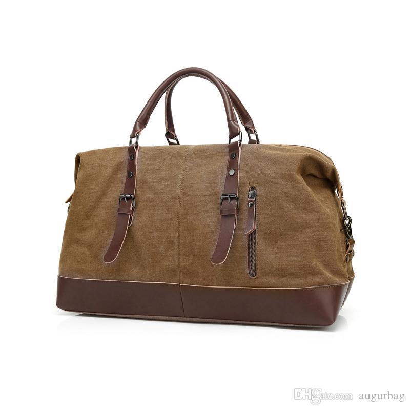 AUGUR New Fashion Men Women Canvas Travel Bag Duffle Bag Brand Designer Luggage  Handbags Large Capacity Mens Messenger Bags Garment Bags Computer Bags From  ... 9b3f04c4b