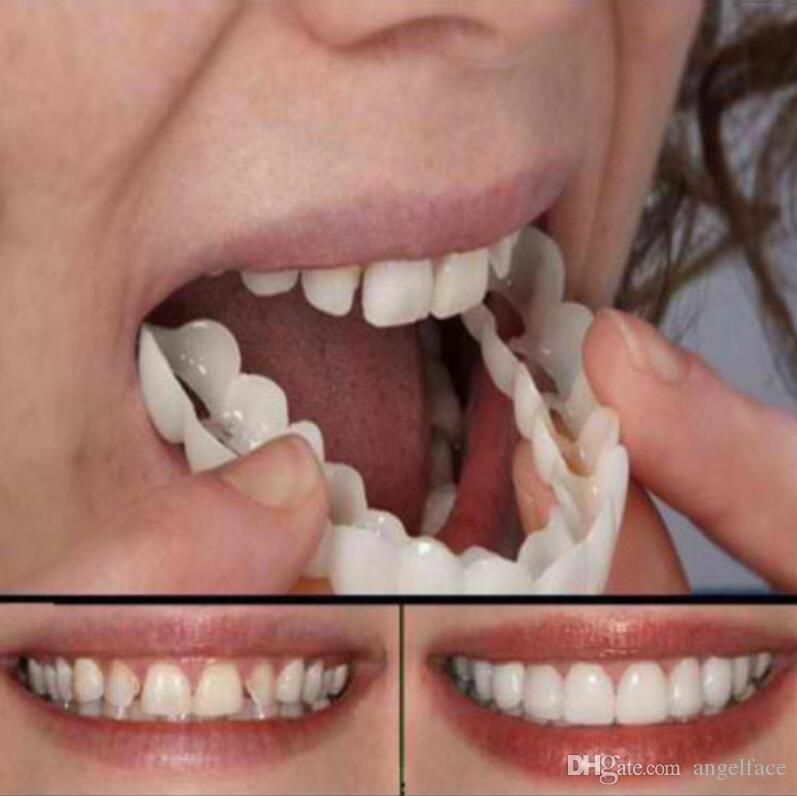 False Tooth Stickers Simulation Teeth Whitening Dentures Paste