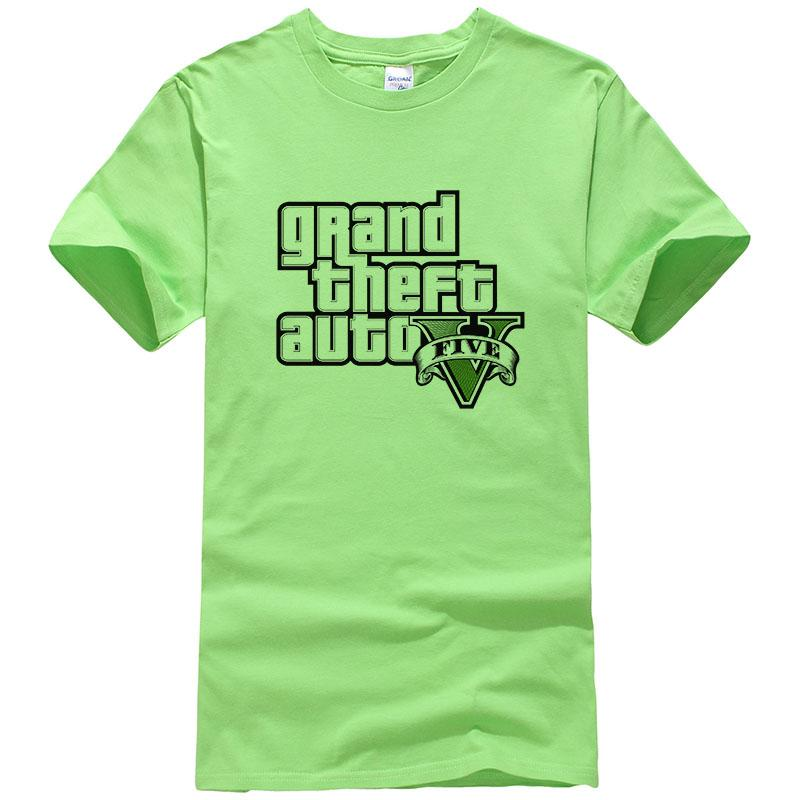 d3c6805be8f 2018 New Summer Gta 5 Game T Shirt Grand Theft Auto Andreas Tshirt Gta San  Andreas Mens T Shirt Fashion Cotton Printing T Shirts Hilarious Tee Shirts  Online ...