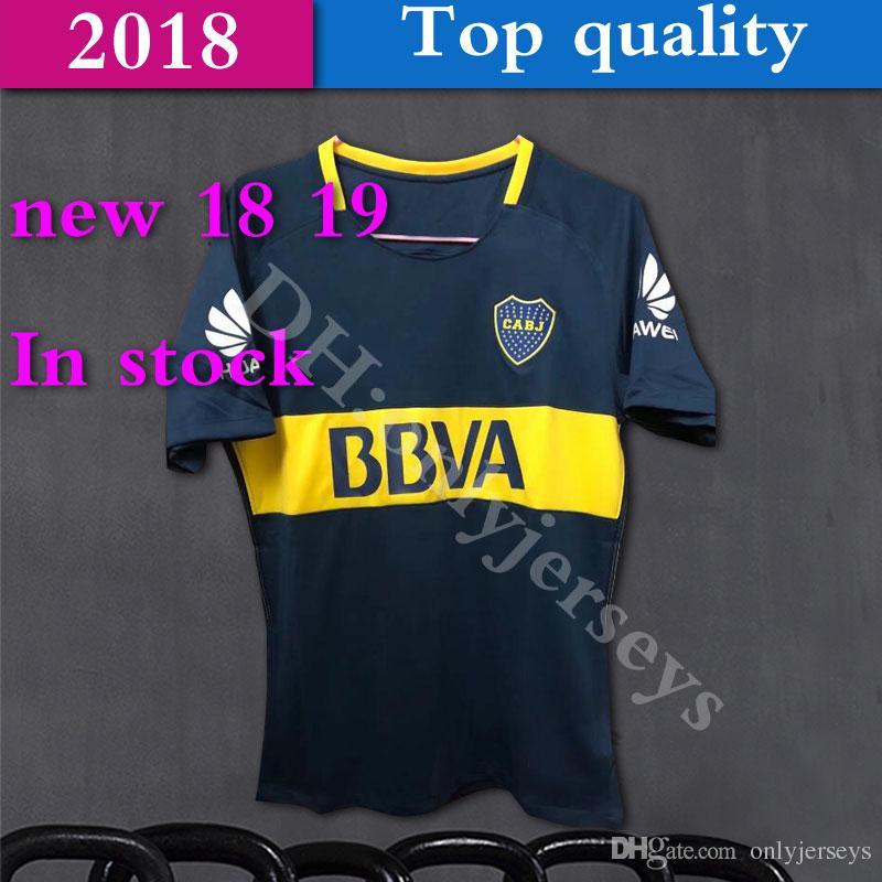 65e8f4eb1 2019 Boca Soccer Jersey 2018 19 Boca Junior Home Blue Soccer Jerseys 18 19  Argentina Club Football Shirts Thai Quality Boca Junior Jeresys From  Onlyjerseys, ...