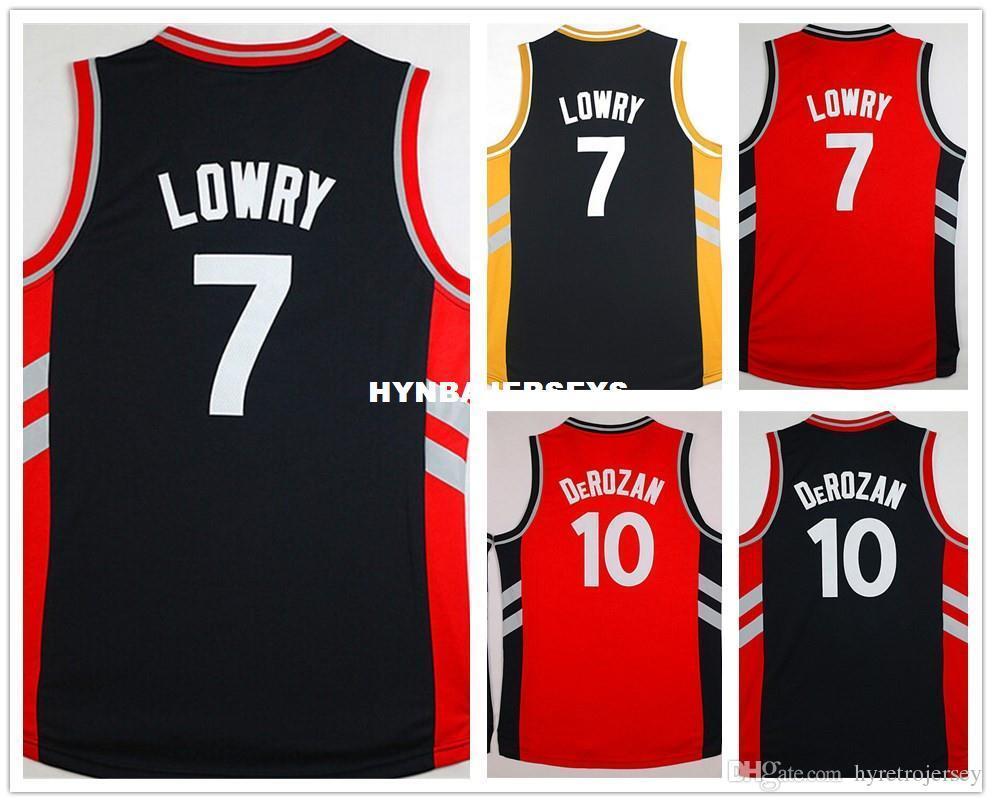 2f153538c Cheap  10 Demar DeRozan Jersey Stitched Retro Retro Basketball Jerseys  7  Kyle Lowry Jersey Top Quality Size S-XXL Cheap Jerseys Cheap Basketball  Jerseys ...