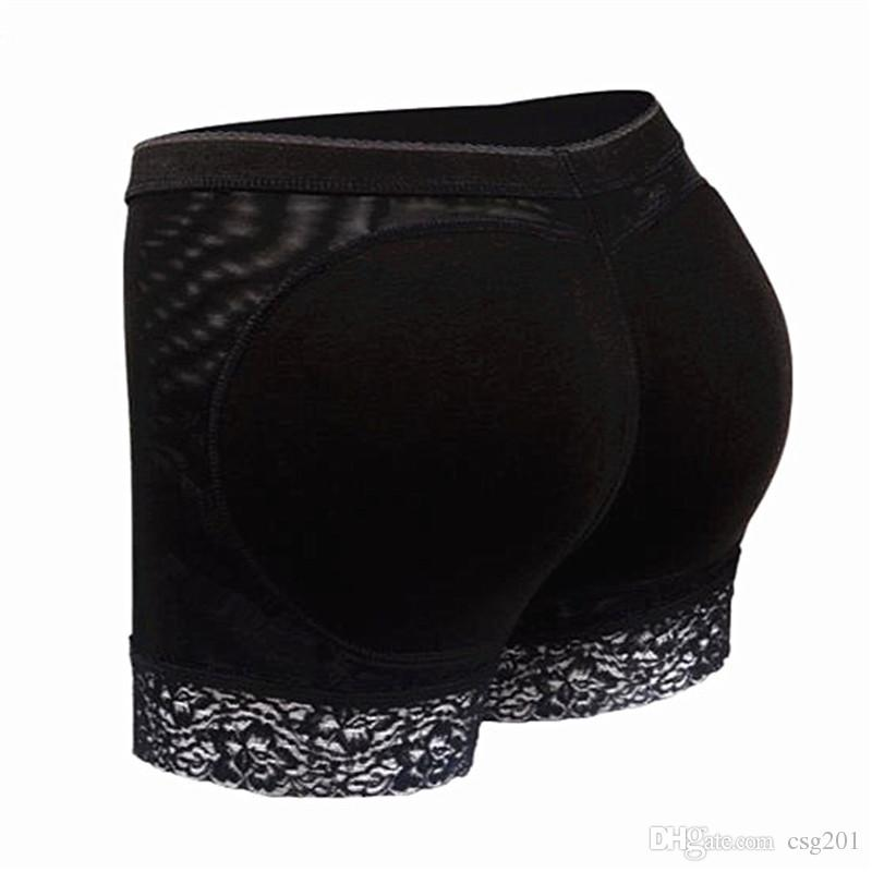 Women Butt Lift Shaper Booty Lifter Tummy Control Panties Padded Underwear Butt Enhancement Body Shapers Boyshorts With Pads