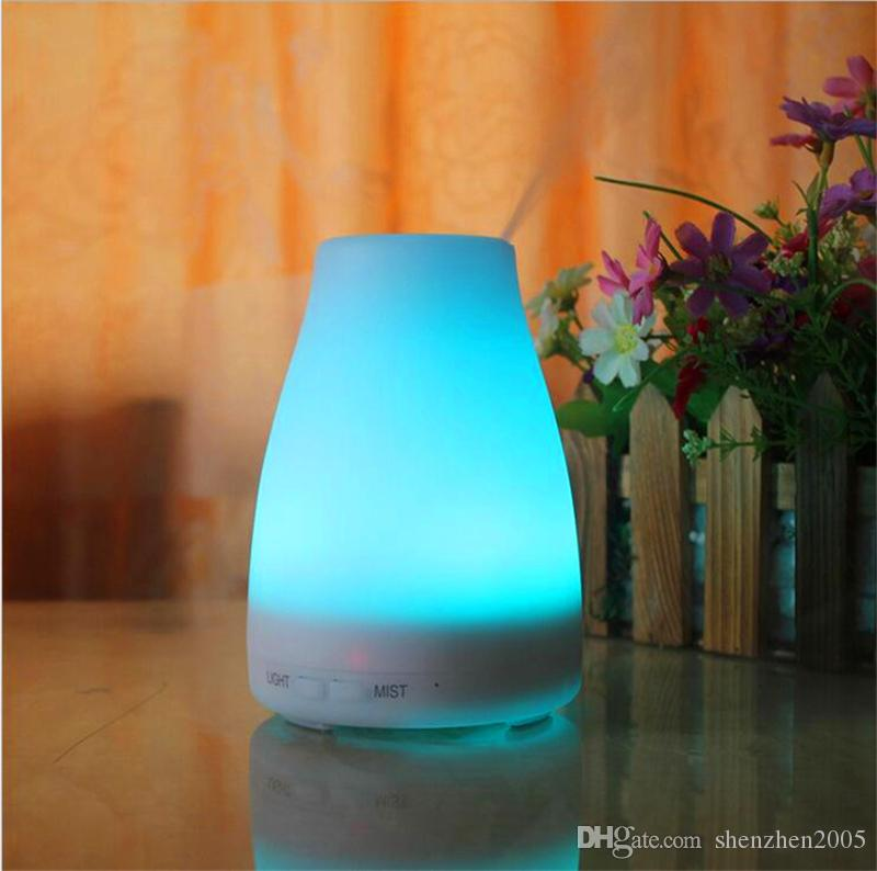 stock 100ml Essential Oil Diffuser Portable Aroma Humidifier Diffuser LED Night Light Ultrasonic Cool Mist Fresh Air Spa Aromatherapy