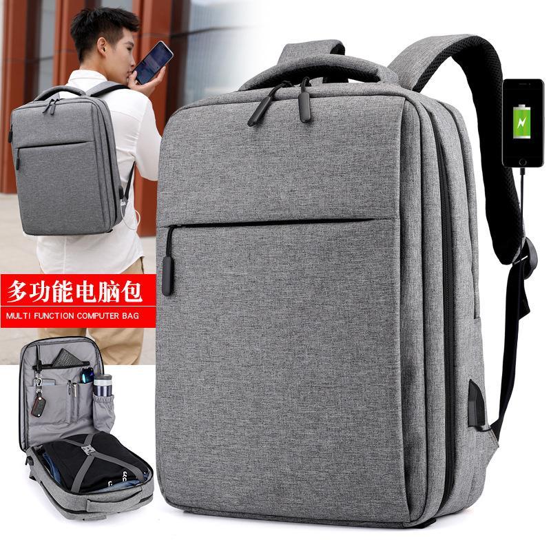 aabebf07d9a0 2018 New Mens Backpack Computer Bag For Apple Dell Xiaomi Laptop Bag  Waterproof Shockproof Lenovo USB Charging Backpack Black Designer Backpacks  College ...